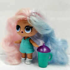 lol surprise doll Big Sister Pink Blue Hair DIY Blue Dress Girls Birthdays Gift