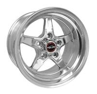 Race Star 91 Drag Star 15x10.00 4x108bc 6.50bs Direct Drill Met Gry Wheel