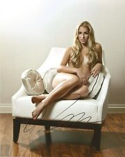 TENNIS: DOMINIKA CIBULKOVA SIGNED 10x8 SEXY MODELLING PHOTO+COA **PROOF**