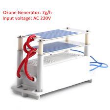 Ceramic Ozone Generator Kit 220V 7g/H Double Ceramic Plate Ozonizer Disinfection