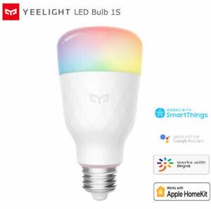 Yeelight Smart Control LED WiFi Dimmable RGB Color Bulb 1S E27 Apple Homekit