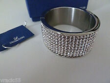 Swarovski Intervalle Wide Bangle 1036792 Medium new
