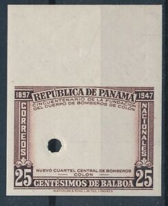 [35628] Panama Good PROOF stamp with hole Very Fine MNH see 2 pictures