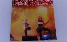 "IRON MAIDEN 7"" VINYL SINGLE RUNNING FREE / SANCTUARY live, 2014 reissue new mint"
