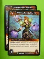 WoW World of Warcraft CCG: ANASTINA, HERALD OF THE FEL 141/263 x2