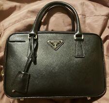 Black PRADA Saffiano Leather Bag