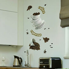 Moderne Deko-Wandtattoos & -Wandbilder Kaffee-für die Küche günstig ...
