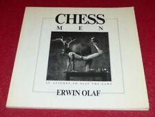 [PHOTOGRAPHIE] Bibl.JAMES A.FOX (Ag.MAGNUM) CHESS MEN / ERWIN OLAF EO 1986 First