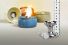 Dochthalter Schmelzlicht Kerzen Wachs Reste Outdoor 5,2 cm  Glasfaser Docht