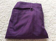 Sport Haley Golf Shorts 4 Purple Pants Stretch New Swarovski Element Crystalized