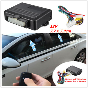 Universal 12V 4-door Car Window Automatic Closer For Auto Security System Kit