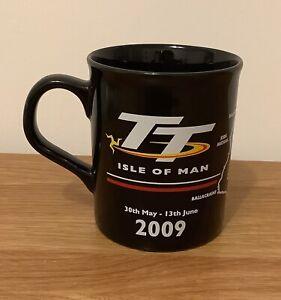 TT RACES 2009 MOTORCYCLE MOTORBIKE RACING MUG ISLE OF MAN ~EXCELLENT CONDITION~