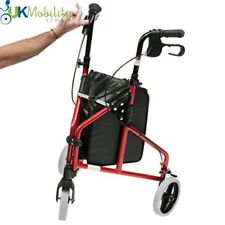 Ultra Lightweight Mobility Tri Walker Aluminium 3 Wheeled Walking Aid Frame
