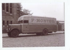 photo camion BERLIET diesel déménagement  P.Monteil Bordeaux