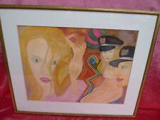 _emebellecedor,antiguo Pintura (Acuarela)__eritok__Akt__firmado__Pop Art