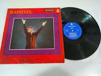 "Raphael Exitos 1967 Hispavox - LP Vinilo 12"" G+/G+"