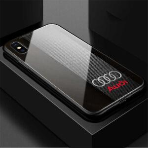 Premium Audi Car Logo Case Cover for iPhone Samsung Huawei