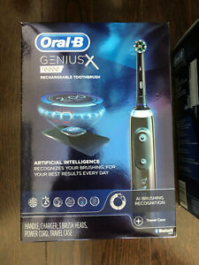Oral-B Genius X 10000 - Midnight Black