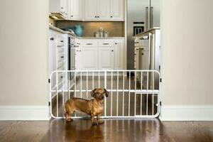 Carlson Lil' Tuffy Expandable Gate w/Small Pet Door for Dogs & Cats Never Used