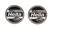PAIR OF GENUINE HELLA RALLYE 3000 PROTECTIVE SPOT FOG DRIVING LAMP LIGHT COVERS