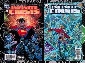 Infinite Crisis #1 2 3 4 6 7 2005 DC Comics Superman Batman Blue Beetle HBO Max