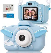 Kids Camera, Digital Camera ELEPOWSTAR 2.0 Inch for Boys Girls with HD 1080P Vid