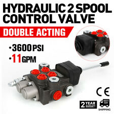 11gpm Hydraulic Directional Control Valve Tractor Loader 2 Spoolwith Joystick