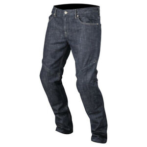 Alpinestars Copper Out Rough Blue Technical Aramidic Fiber Denim Motorbike Jeans