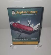 Digital-Tutors Introduction to Modeling In Maya Basics [Cd-Rom, 2007] New Sealed