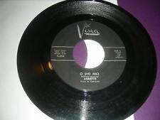 "Pop 45 Annette ""O Dio Mio/ It Took Dreams"" Buena Vista VG"