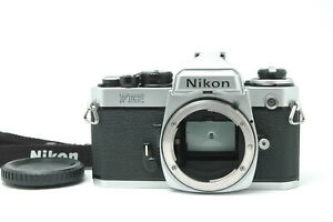 [Exc+++++] Nikon FE2 SLR Film Camera Body Only Silver from JAPAN F36