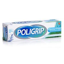 Poligrip Denture Fixative Cream Flavour Free (40g)