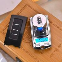 Mini High Precision Scale 200G/100G 0.01G Digital Scale Key Weigher Car Jew A1G9