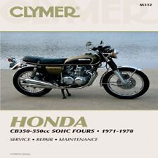 Clymer Repair Service Shop Manual Vintage Honda CB 350 F /400/500/550/550 F M332