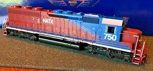 HO Athearn Genesis Helm Atlantic HATX SD45-2 #750 DCC Ready