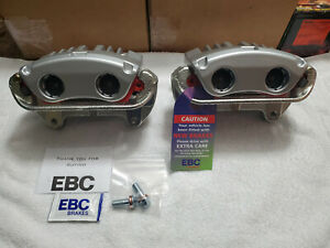 COBRA CALIPERS 99/01 MACH-1 NEW FORD MUSTANG COBRA MACH-1 FRONTS 4.6 W/ EBC PADS