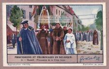Virgin Jesse Mary Festival Hasselt Belgium Belgique 1930s Trade Ad Card