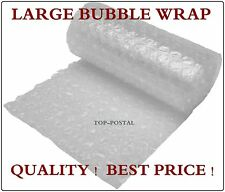 100m x 500mm 20'' ROLL LARGE BUBBLE WRAP QUALITY - GOOD PROTECTION FREE DELIVERY