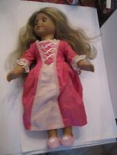 "2008 AMERICAN GIRL DOLL - BLONDE HAIR & BLUE EYES - 19"" LONG"
