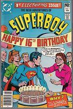 Superboy New Adventures Of #1 Dc '80 Series Update Kurt Schaffenberger Art Vf/Nm
