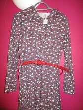 Cotton Blend Polo Neck Shirt Dresses