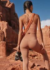 NEW Free People Movement High-Rise Good Karma Leggings Desert Dune XS/S-M/L $98