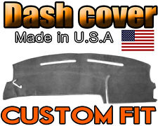 Fits 2000-2006 FORD  TAURUS  DASH COVER MAT  DASHBOARD PAD  / CHARCOAL GREY