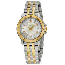Raymond Weil Tango Silver Dial 18kt Gold and Steel Ladies Watch 5399-STP-00657