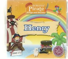HENRY - THE BEST EVER PIRATE SONGS & STORIES PERSONALISED CHILDREN'S CD