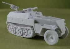 "Milicast BG058 1/76 Resin WWII German SdKfz 250/1 ""Neu"" Halftrack"