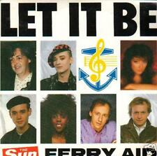 JUKEBOX single 45 FERRY AID LET IT BE  DISC-COUNT 2