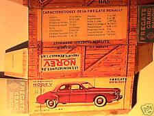 REPLIQUE  BOITE RENAULT FREGATE GD PAVOIS NOREV1959