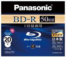 20 Panasonic Bluray Disc 50GB 4x Panasonic Blu Ray Recorder 3D Bluray Disk