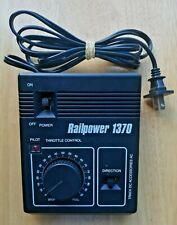 Railpower 1370 Model Rectifier Corp MRC Power Pack Model Train Black Transformer